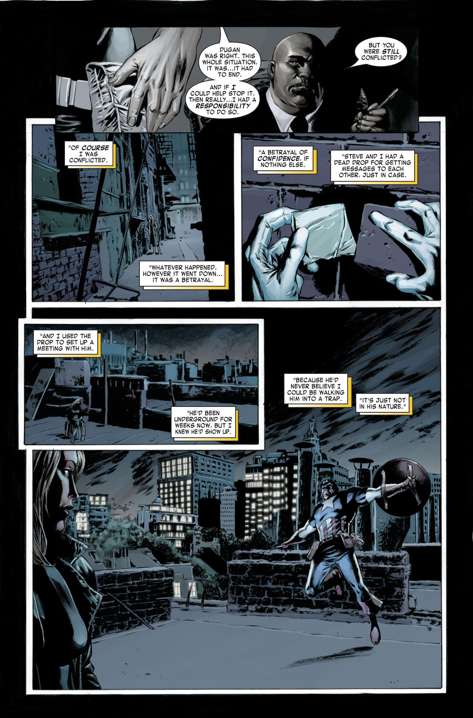 Captain America (2005) Issue #22 #22 - English 11