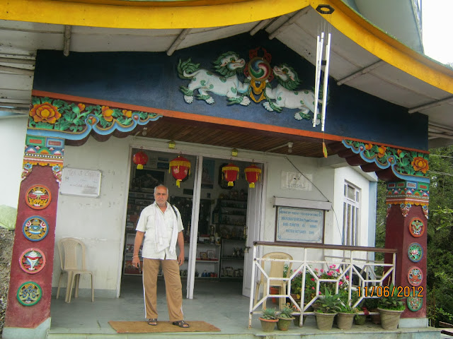 monestry at gangtok, sikkim