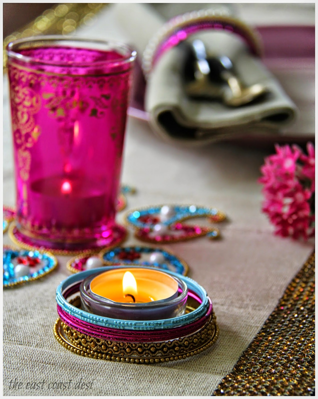 Diwali Tablescape