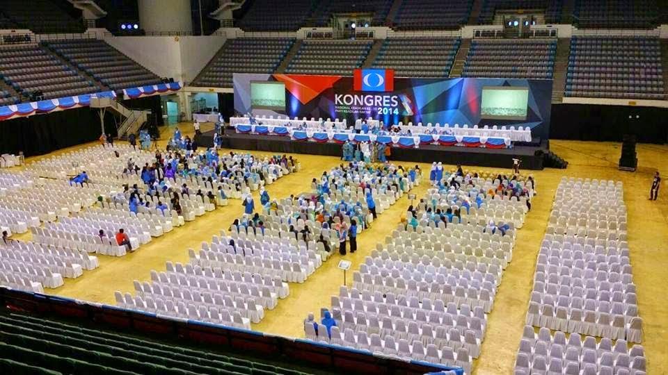 Mak lampir ybz99 malu besar Kongres Wanita PKR lebih kerusi dari orang APterkini UtaraNews