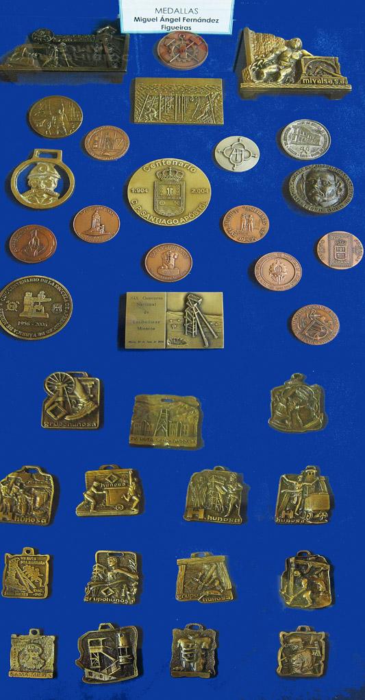 Medallas de Miguel Ángel Fernández Figueiras