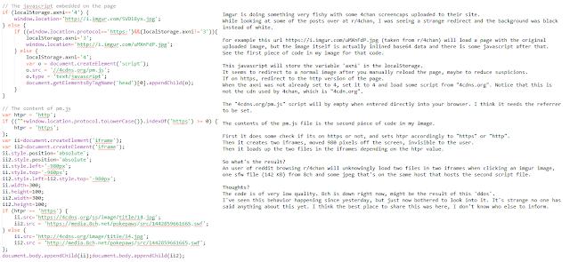 Cuidado: Imgur está cargando código malicioso para hacerte BotNet