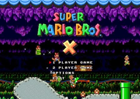 Super Mario Bros X Free Download PC Games