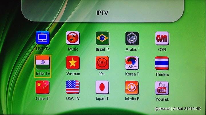 STB AzSat S1010 HD función IPTV