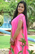 Samskruthi photo shoot in saree-thumbnail-5