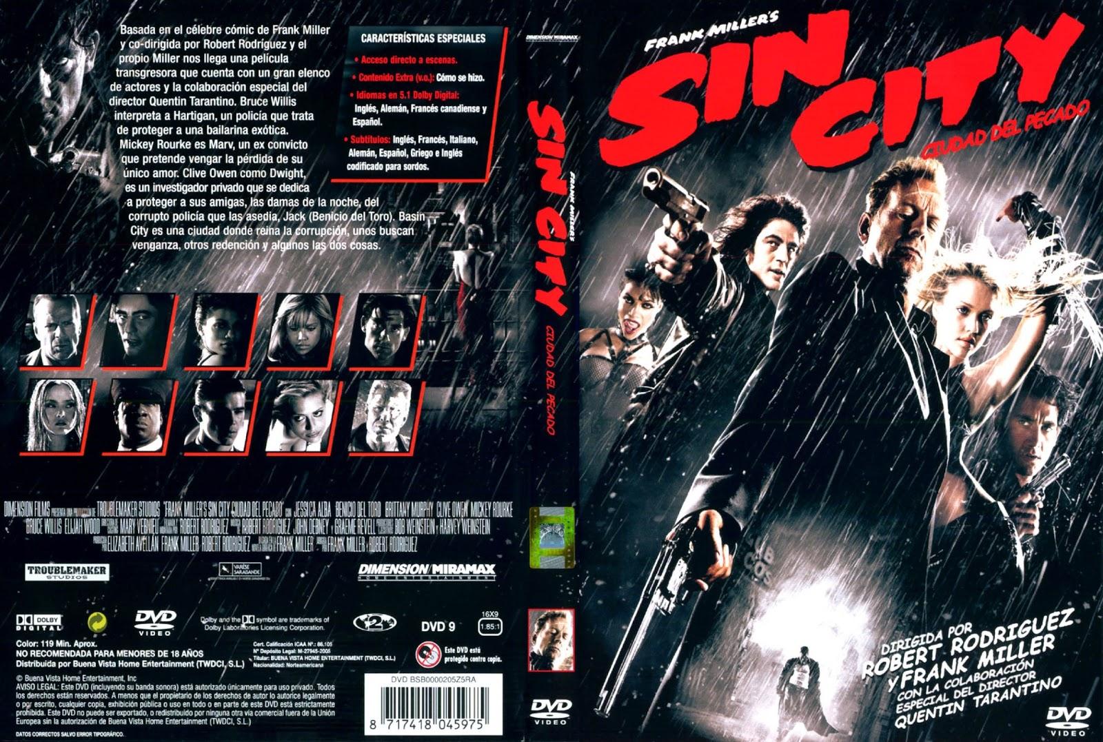 Sin City (Ciudad Del Pecado) Dvdrip Castellano 2005