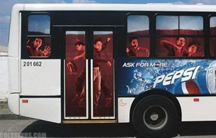 Amazing advertising on buses 15