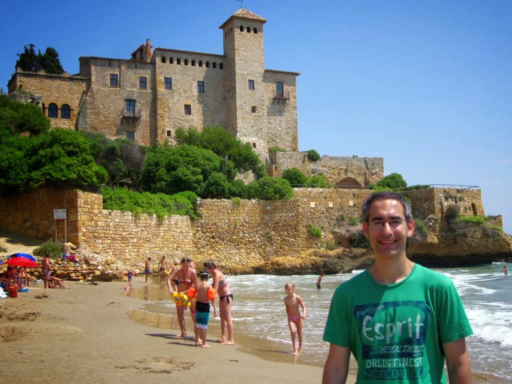 Castle of Tamarit in Tarragona
