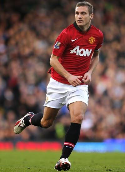 Nemanja Vidic Manchester United Defender Legend 2014