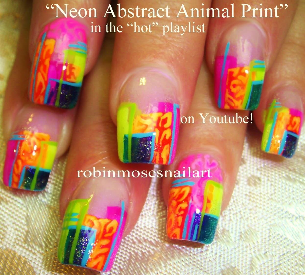 """Robin Moses Nail Art: """"summer nails"""" """"geometric nail art"""" """"abstract ..."""