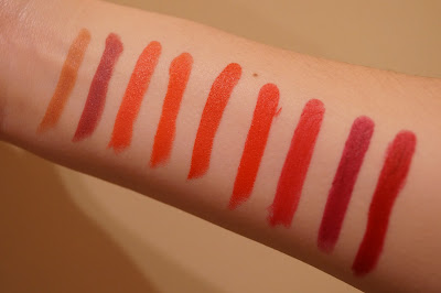 Colourpop Cosmetics Lippiestix Swatches