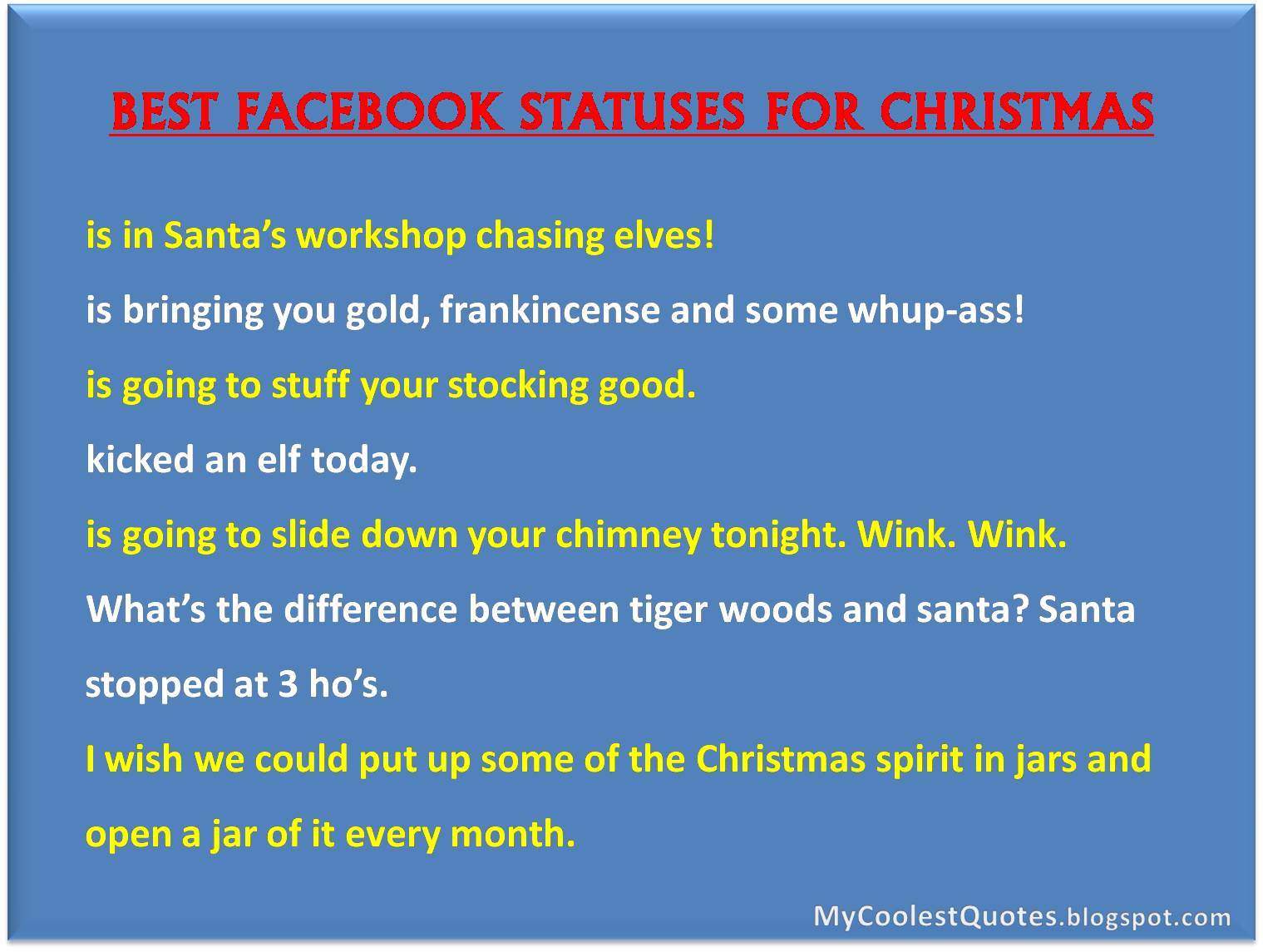 Quotes For Facebook | Best 2BFacebook 2BStatuses 2Bfor 2BChristmas