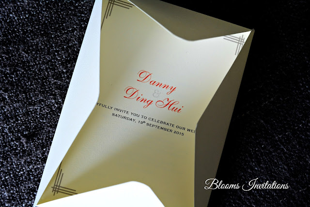 Envelope wedding invitation