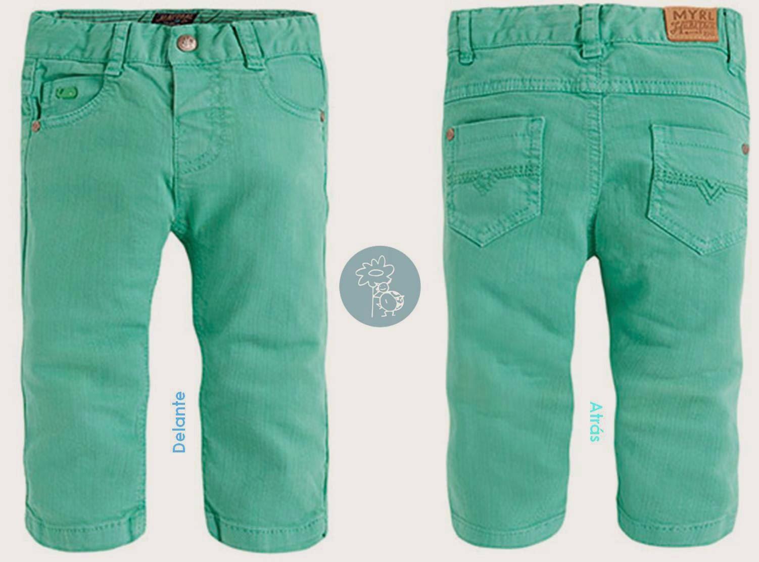 Mayoral pantalon largo turquesa boys en Blog Retamal moda infantil y bebe