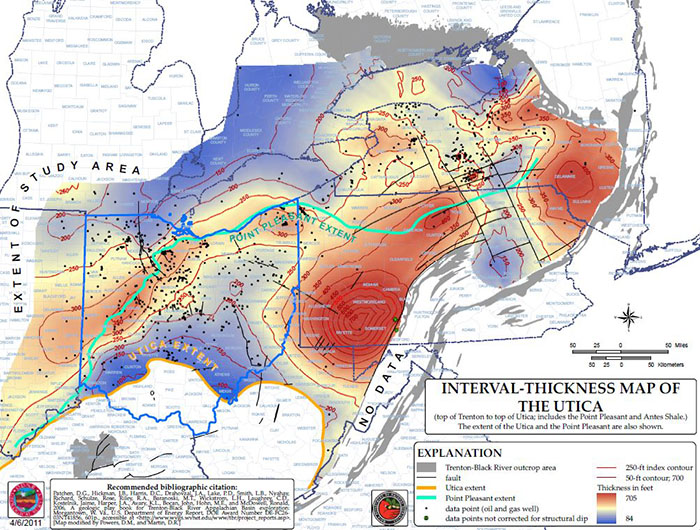 Utica Shale Play Book Abstract and Citation - Section 9