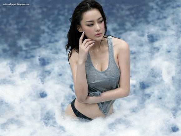 Girls Beauty Wallpaper Zhang Xinyu 18