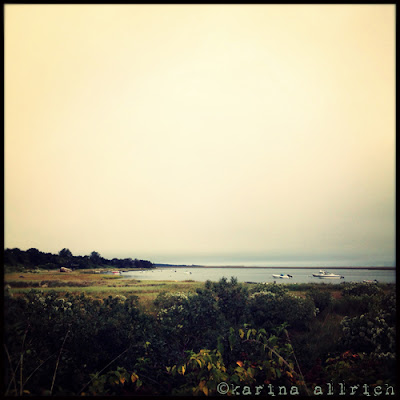 Fall morning in Orleans, Cape Cod by Karina Allrich
