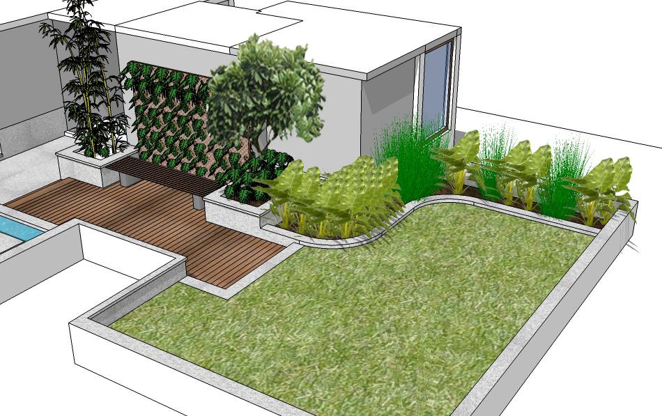 Cr park residential landscape akshay kaul for Xd garden design