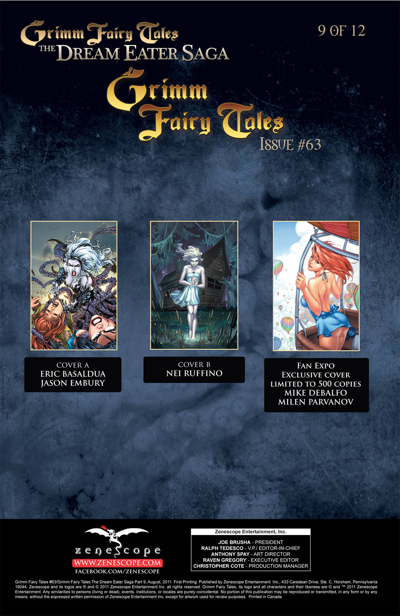Grimm Fairy Tales (2005) Issue #63 #66 - English 2