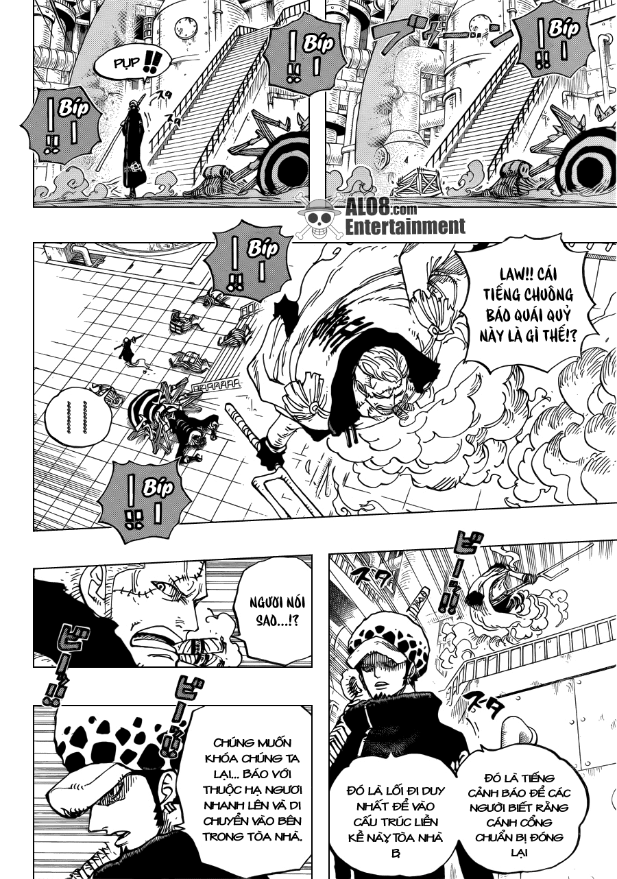 One Piece Chapter 679: Quyết tâm của G-5 009