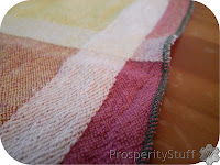 ProsperityStuff Serger project: kitchen washcloths