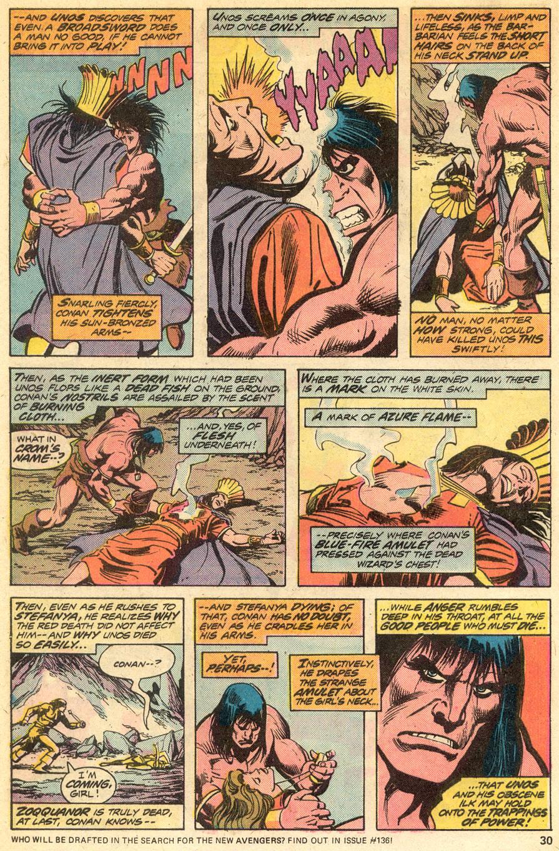 Conan the Barbarian (1970) Issue #51 #63 - English 18