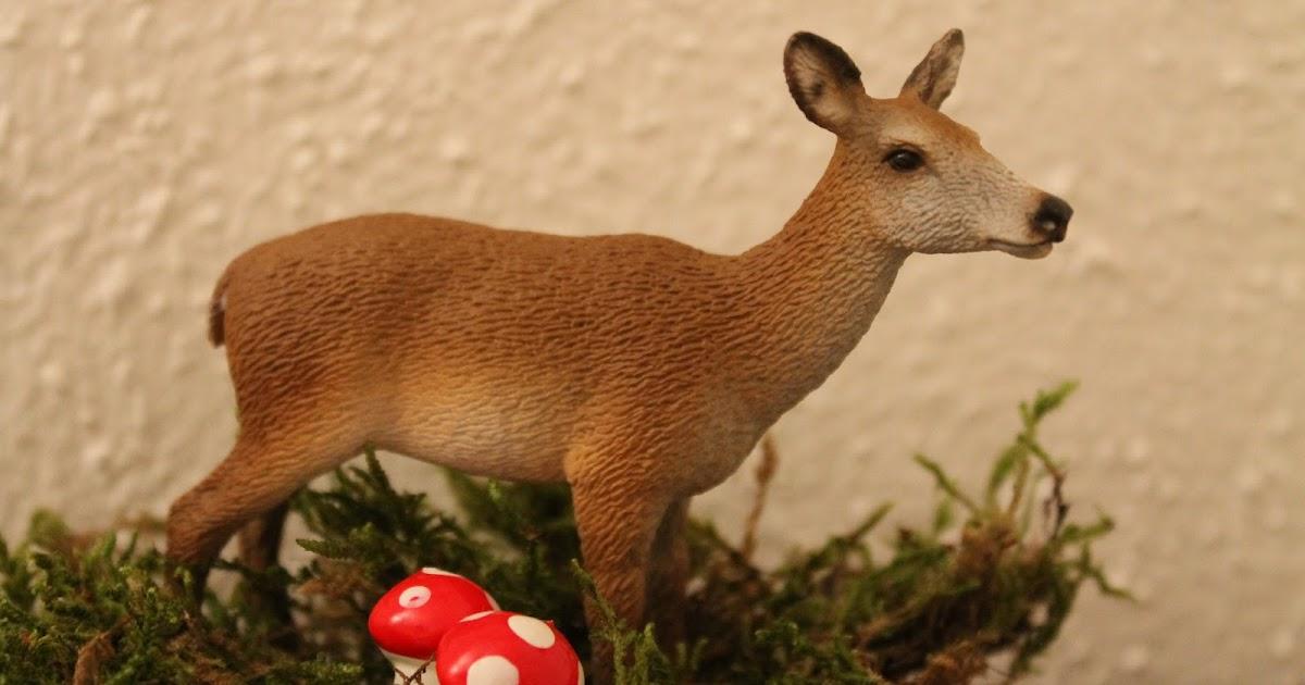 Fr ulein to do liste herbstliche deko tiere aus dem wald for Deko tiere