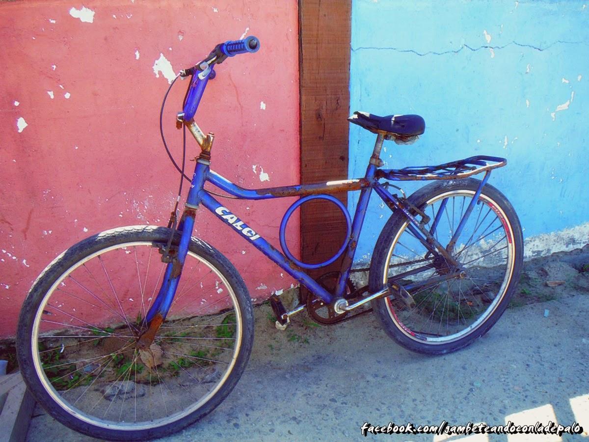 La bicicleta de Guido en Buzios