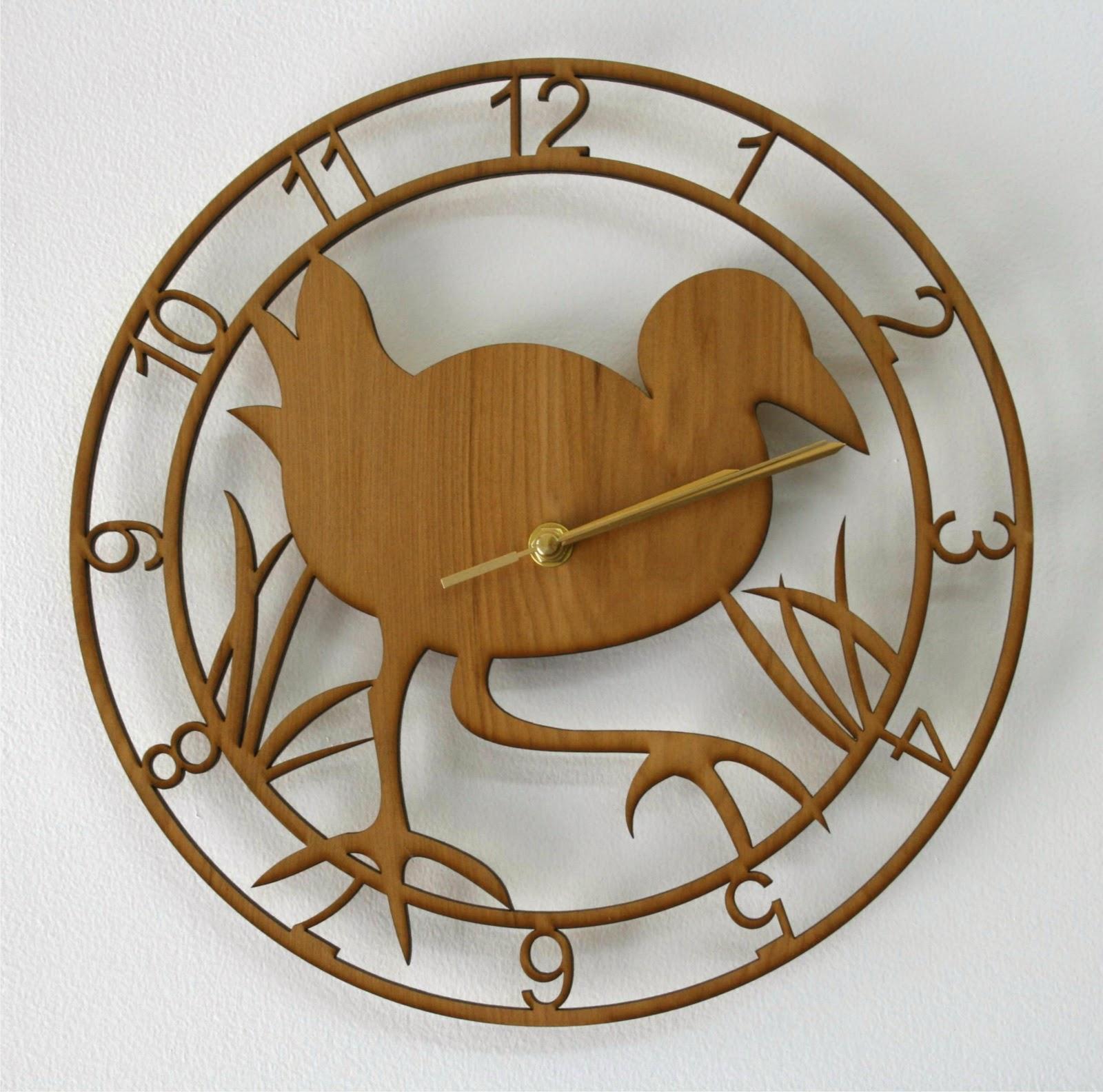 http://felt.co.nz/listing/144722/Pukeko-clock---rimu-veneer