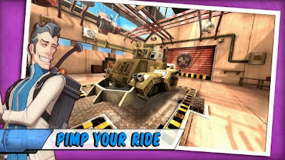 Tank Battles game up to Google Play