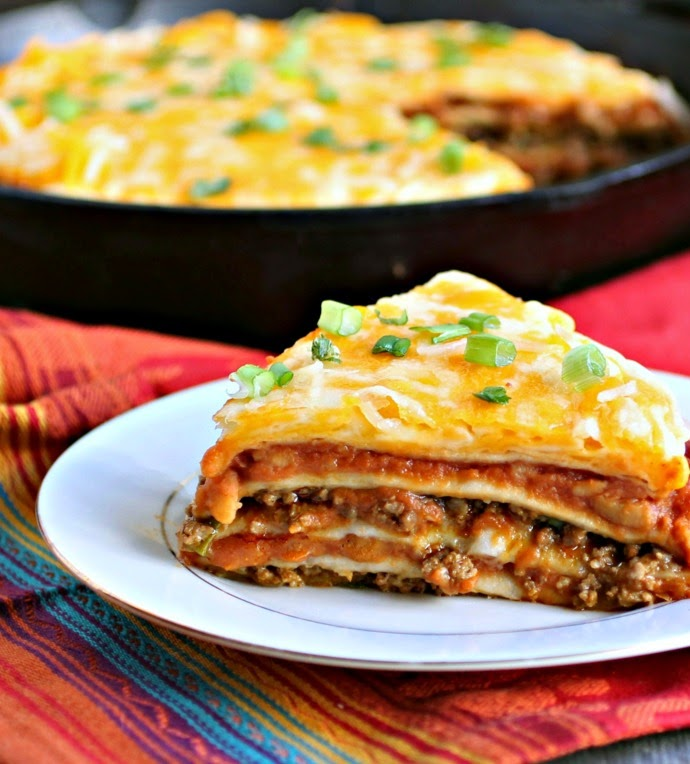 Hungry Couple: Mexican Tortilla Pie