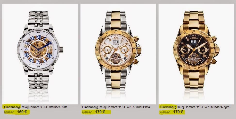 reloj hindeberg barato