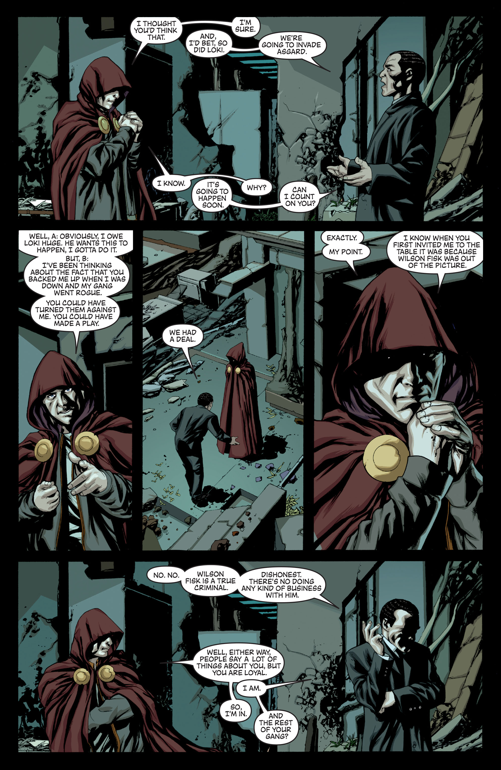 New Avengers (2005) chap 64 pic 5