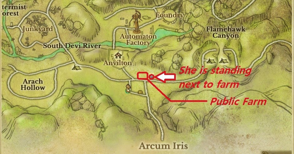 how to find skeleton merchant on map