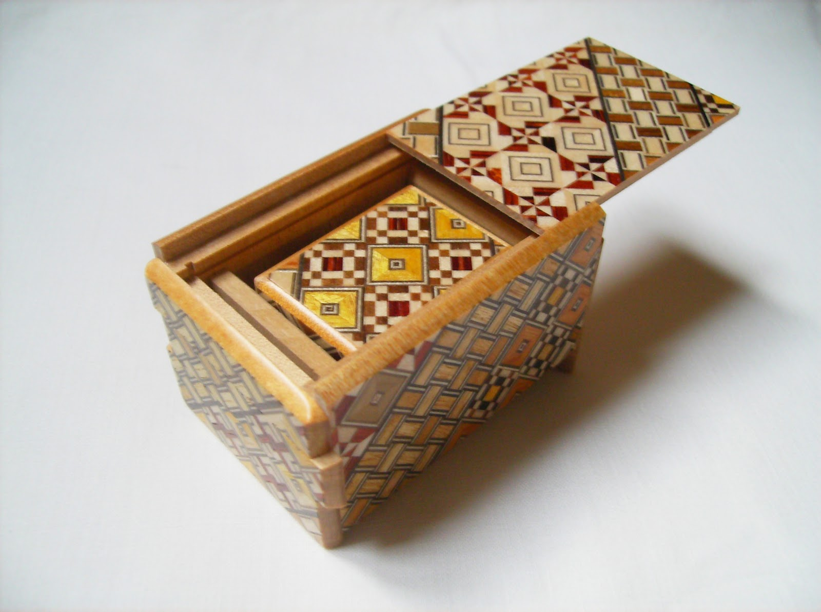 japanese wood puzzle box