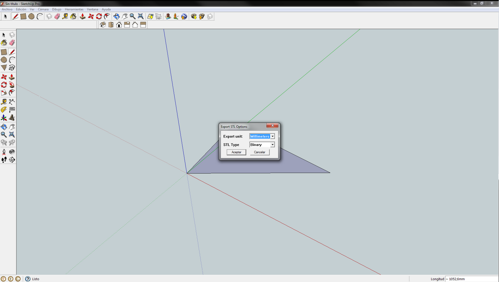 Convert sketchup skp files to dxf or stl sketchup plugin for Google sketchup converter