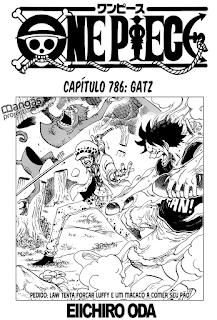 One Piece 786 Mangá Português online
