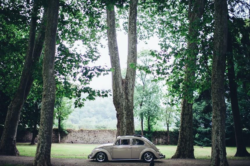 Alquiler de Vw Escarabajo Sunroof de 1958 para bodas, anuncios y rodajes