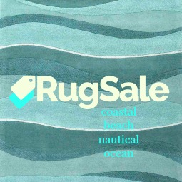 Coastal, Beach, Nautical, Ocean Rug Sale
