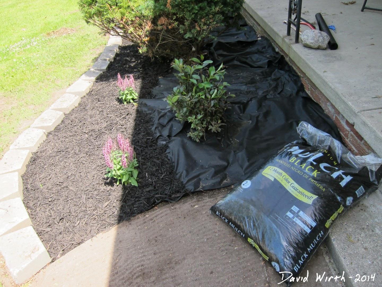 mulch bag calculation, how much