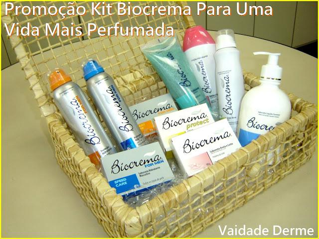 Promoção Kit Biocrema Para Uma Vida Mais Perfumada