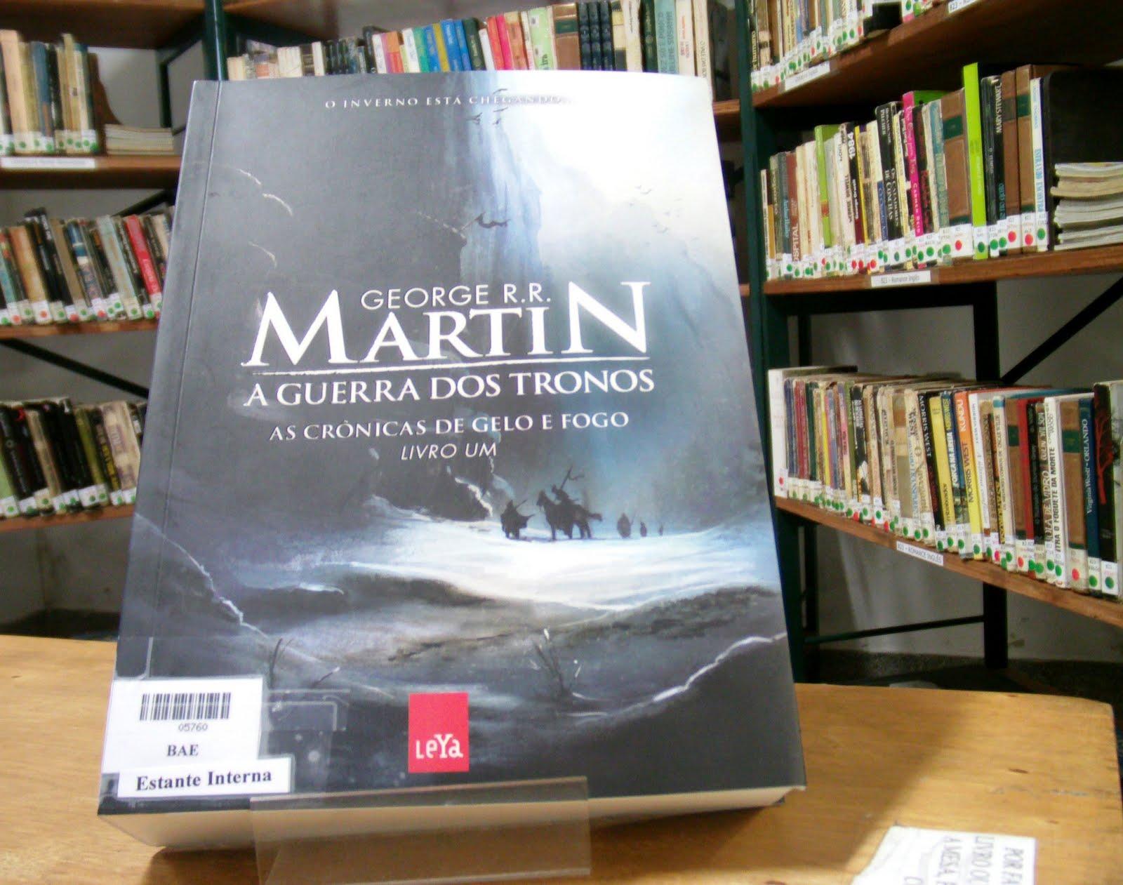A guerra dos tronos livro