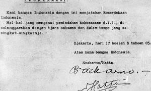 Peristiwa Perumusan Teks Proklamasi Indonesia