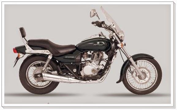 Bajaj Avenger 220 cc black color
