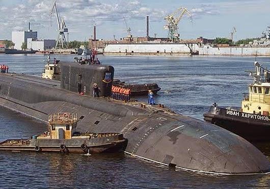 Borei submarines