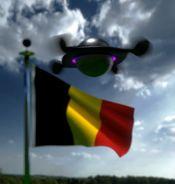 UFO über Lier 2014