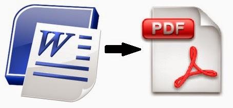 merubah file microsoft word ke pdf