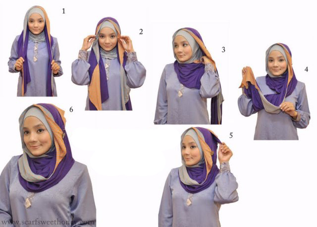 Setelah tahu cara memakai jilbab cantik terbarunya silahkan belanja ...