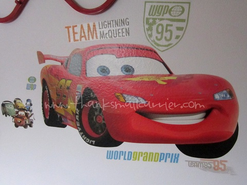 Lightning McQueen decal