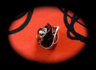 francine bricole le collier sautoir capsules nespresso rouges et perles facettes. Black Bedroom Furniture Sets. Home Design Ideas